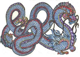 Chinese dragon by Deepseaweed