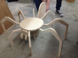 Spider Chair! by MadeTheCut