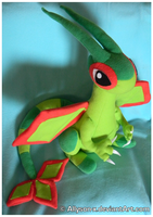 Flygon Plush by Allyson-x