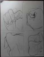 100 hand project 8 by Whitelionarts