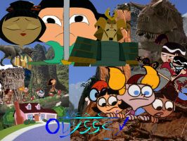 Dexter's Odyssey Collage by timbox129