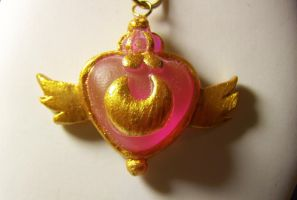 Sailor Moon Super S Necklace by littlemooglet