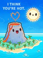Hot Stuff - valentine card by InfinityWave