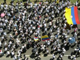 MARCHA CONTRA LAS FARC 2 by tomegatherion