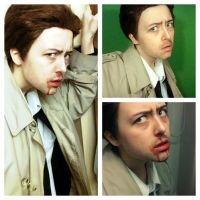 Castiel cosplay try-out by KatzeLexie