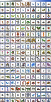my fakemon dex by Xyrten