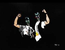 Bill and Ted Robots by TKthekid