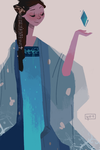 chinese elsa by vellumed