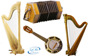 Musical Instruments - PNG by lifeblue