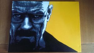 Breaking Bad Spray paint stencil by Robm612