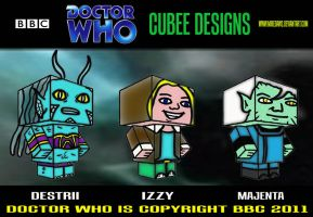 Cubee Who - 9 by mikedaws