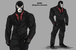 Bane in a Suit by darknight7