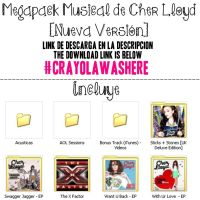 Megapack Musical de Cher Lloyd by CrayolaWasHere