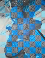 Blue Checker Spider-Man by ToughSpirit