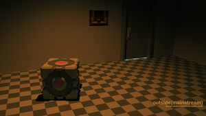 Weighted Companion Cube by SamKent
