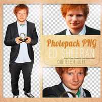 +PhotopackPngSheeran by LuGinger