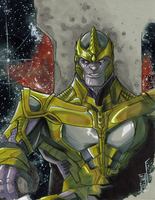 Thanos by Hodges-Art