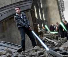 The Jedi Battle of Hogwarts by GronHatchat