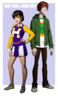 YOUNG JUSTICE: WENDYandMARVIN by Jerome-K-Moore