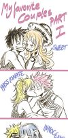 My favorite Anime Couples Part I by zippi44