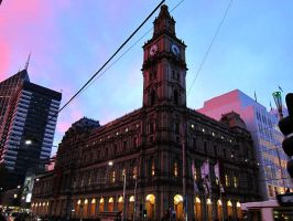 Old Melbourne General Post Office by Bella-Blue