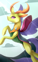 Thorax + Speedpaint by Scarlet-Spectrum