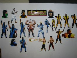 Mortal Kombat Bead Sprites by Buck-Chow-Simmons