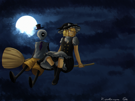 Witching night by Asteris-Kitsy