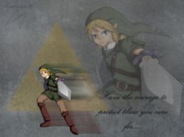 Link of courage by slowdragon25