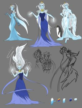 The Ice Queen by Hootsweets