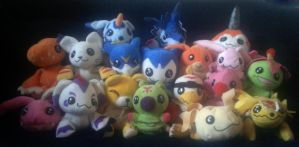 Digimon collection by Orchidsc