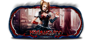 Harley Quinn - Sign by MaiconDesp