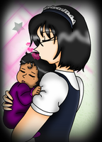 Natsumi and his Daughter by NickyVendetta