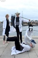 Soul Eater Doctors and Nurse by LupiViri