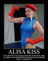 Alisa Kiss (De)Motivational by StreetFighterFan1