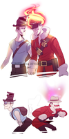 TF2: Gibus x Unusual by DarkLitria