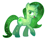 My Speices - Galaxy Gems - Emerald Example by anuadhi