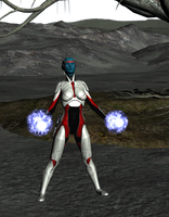 My name is Liara T'Soni and i am Sheperds wif by gothikuk