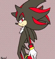 Hey~ Shadow the Hedgehog by KakshiKoyangi