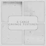 6 large grunge textures by Kiho-chan