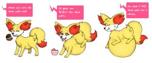 :Commission: Ember Pokepuff Sequence by AllyMoodyNeko