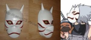 Kakashi Anbu Mask by catnip23