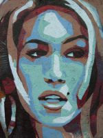 Cindy Crawford, detail by TheBreadmaster