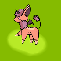 Liver mascot contest entry (feral form) by TylerRaveDragon