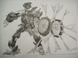 Transformers Barricade by isterini