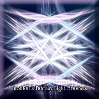 Set of 6 Fantasy Light Rays by InouKai