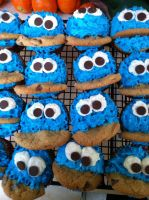 Cookie Monster Army by Warlock0103