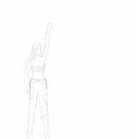 Fanart progression gif ::Erza:: by hyamara