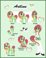 Artline reference guide by BlitzCaliber