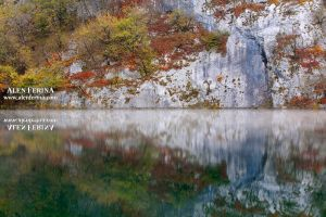 Plitvice Lakes mirror by Febo-theRealOne